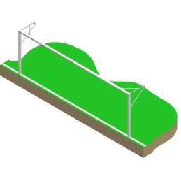 BUT DE FOOTBALL A 8 A SCELLER LYNX SPORT FG710
